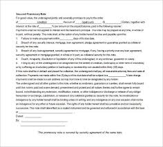 promissory note template 34 free word pdf format free