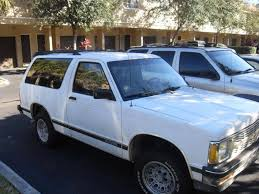 1992 chevrolet blazer information and photos zombiedrive