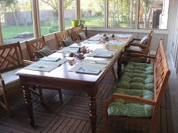 Big Wood Dining Table Furniture Narrow Wooden Dining Table With Leaves Pattern Padded