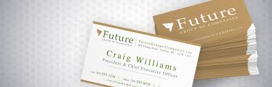 business cards for future group of companies dc design house