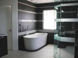 Bathroom White Porcelain Flooring Stainless by Minimalist Bathroom Designs Small Leather Padded Stool Beside