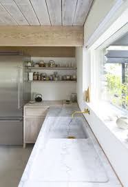 decordots contemporary kitchen with open shelving modern and relaxed kitchen wood open shelves