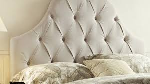 buy tufted upholstered headboard size california king color grey