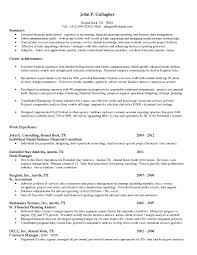 Combination Resume Format Functional Analyst Cover Letter