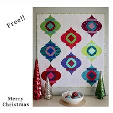 sew kind of wonderful free mod ornaments pattern and give away
