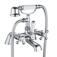 shower and bath taps amazon co uk funime victorian luxury bathroom