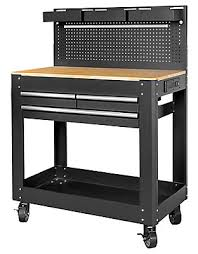 husky adjustable work table husky deluxe 3 drawer work bench with pegboard backing the home
