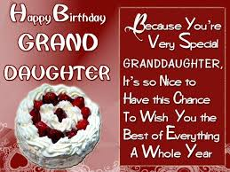 65 popular birthday wishes for granddaughter u2013 beautiful birthday