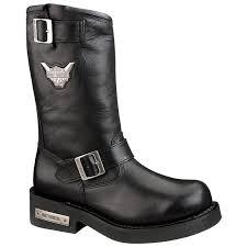 harley riding boots men u0027s harley davidson steel toe mega conductor boots black