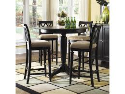 american drew dining room american drew camden dark bar height gathering table with splat