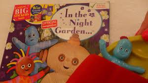 2015 night garden magazine colouring igglepiggle
