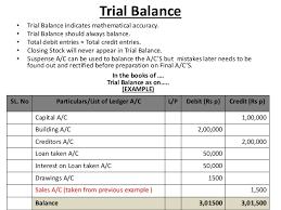 journal ledger trial balance and balance sheet
