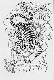 amazing tiger tattoo design