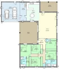 plan de maison plain pied 4 chambres maison plain pied passive