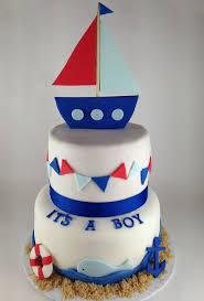 nautical cake baby shower nautical cake