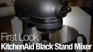 kitchenaid black friday 2017 kitchenaid has a new all black stand mixer because 2017 demands
