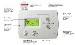honeywell heat pump programmable 2 heat 1 cool pro 4000