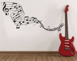 Music Note Wall Decor Music Notes Wall Art Musical Notes Wall Decal Music Note Wall