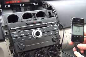 Putting An Aux Port In Your Car Bluetooth And Iphone Ipod Aux Kits For Mazda Cx7 2007 2008 Gta