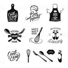 citation sur la cuisine cuisine liées ensemble de typographie citations sur la cuisine