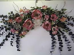 country dried flower swags large 40 magnolia swag our