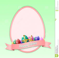 happy easter greeting card template royalty free stock photography