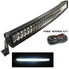 off road light bars sucool 40 inches 240w curved led lighting bar led off road light bar