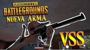 pubg vss playerunknown s battlegrounds pubg nueva arma sniper x4 vss