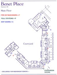 floor plans benet place senior apartments independent living