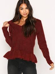 selected femme sffinta ls v neck knit selected femme jumpers