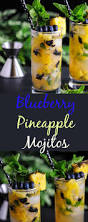 pineapple mojito recipe blueberry pineapple mojitos craft cocktails mixology mojitos
