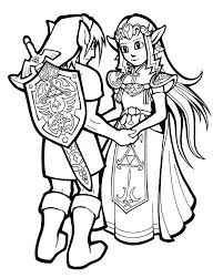 the legend of zelda coloring pages link coloringstar