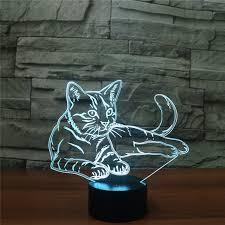 usb cat night light new arrival usb charged night light animal cat led table desk l
