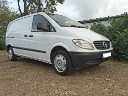 2009 mercedes vito 109cdi compact 64 000 miles twin side loading