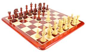 bud rose wood encore staunton wooden chess set pieces 4 5