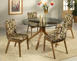 Round Glass Table And Chairs Comfortable Dining Chairs With Ergonomic Styles Traba Homes