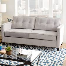 All Modern Furniture Nyc by Modern Sofas Couches Allmodern Serta Upholstery Leda Sofa Clipgoo