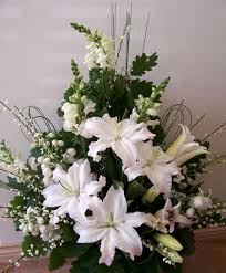 Church Flower Arrangements Pam Slade Wedding Flowers Your Design Our Creation For You