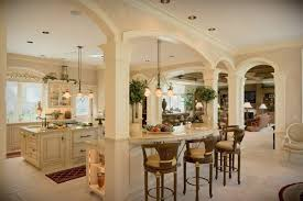 uncategorized beautiful kitchens with columns kitchen small