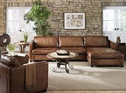 Brown Leather Sectional Sofa With Chaise 100 Aniline Leather Sectional Sofa With
