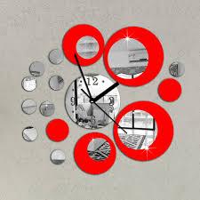 horloge murale cuisine originale nouveau deco salon moderne avec pendule de cuisine