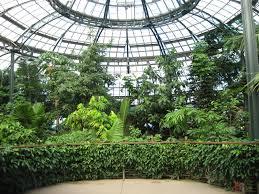Huntington Botanical Garden by Rainforest Greenhouse At The Hunnington Library Gardens San