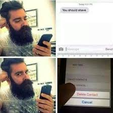 Shaved Head Meme - top 60 best funny beard memes bearded humor and quotes