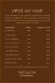 Hair Salon Price List Template Free 10 Price List Template For Hair Salon Plantemplate Info
