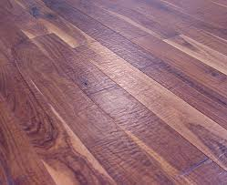 walnut scraped hardwood flooring photo
