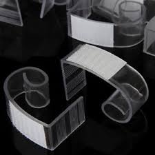 table skirt clips with velcro 50 super large table skirt clips genuine velcro fits table 1 1 2