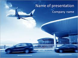 airport powerpoint template u0026 backgrounds id 0000005633