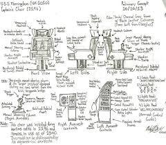 swivel captains chair uss farrington captain u0027s chair 2296 by galaxy1701d on deviantart
