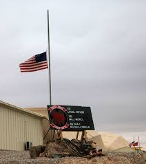 Flags At Half Mass Today Marines In Afghanistan Honor Brethren Killed In Helicopter Crash