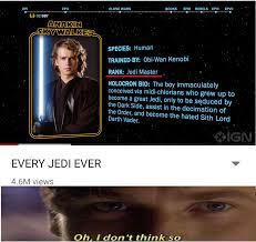 Take A Seat Meme - take a seat young skywalker prequelmemes